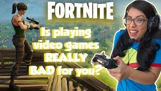 Is Fortnite Addicting? | How Playing Video Games Affects Your Body and Health