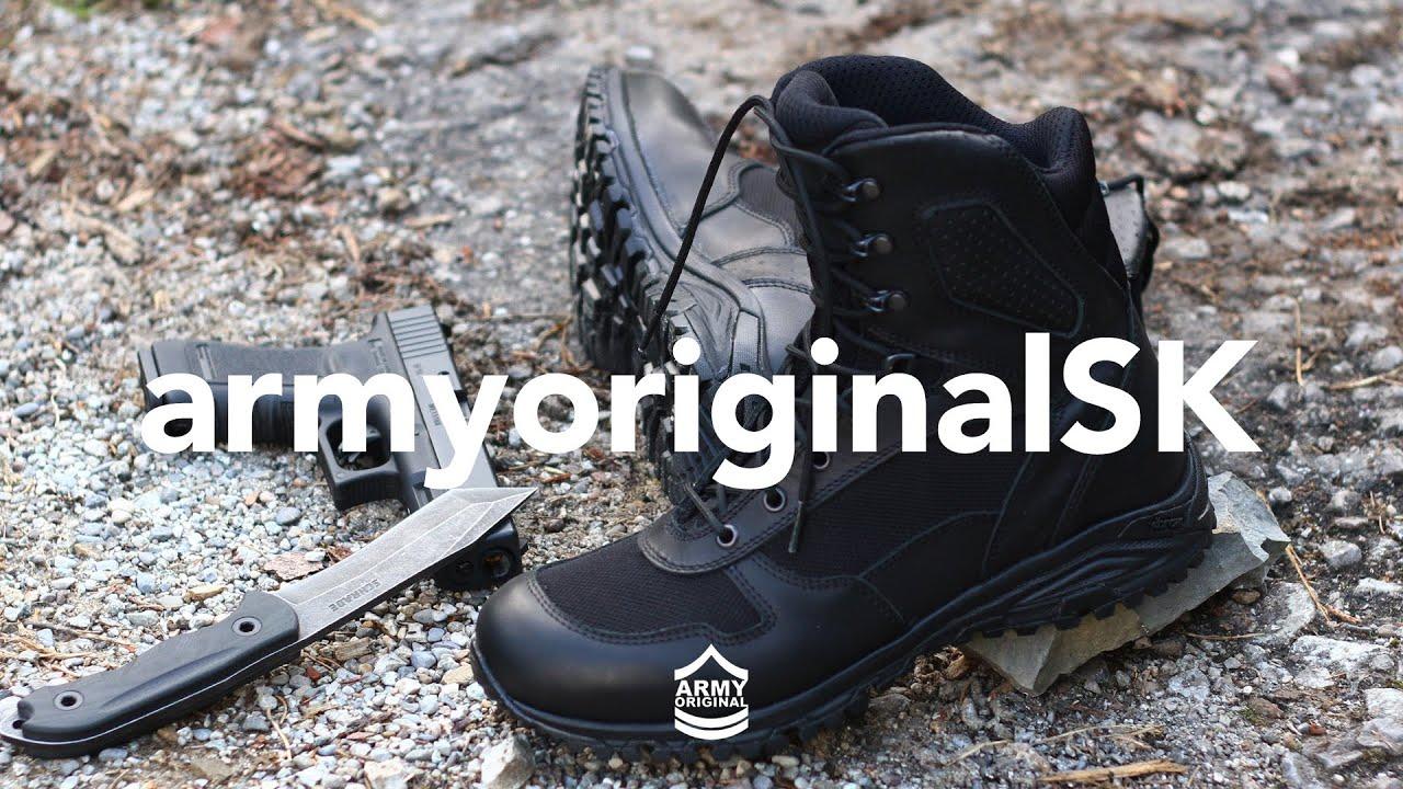 10d3324834d7 Pokročilá taktická obuv od BOSP - YouTube