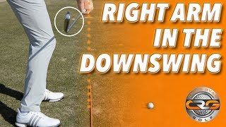 TRAIL ARM IN THE DOWNSWING