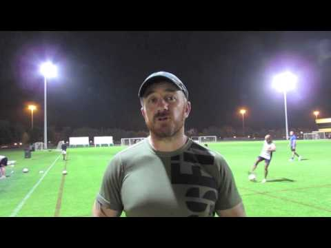Training with Abu Dhabi Harlequins