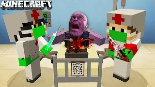 WIR  OPERIEREN THANOS in MINECRAFT?!
