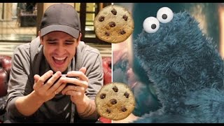 Brendon Urie Reacts To Cookie Monster's