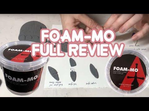 Foam-Mo Cosplay Air Dry Foam - Full Review