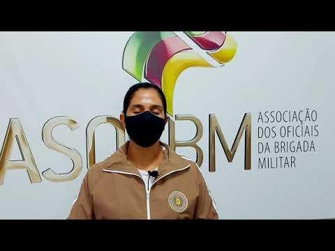Aluna-oficial da BM
