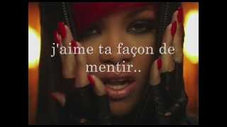 Love the way you lie part II - Eminem & Rihanna Traduction Fr