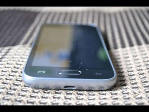 Samsung Galaxy J1 Mini SM-J105H замена сенсора,телефон без винтиков/sensor Replacement