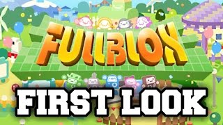 Fullblox/Stretchmo - FIRST LOOK - AMAZING PUZZLE GAME (Nintendo 3DS Playthrough)