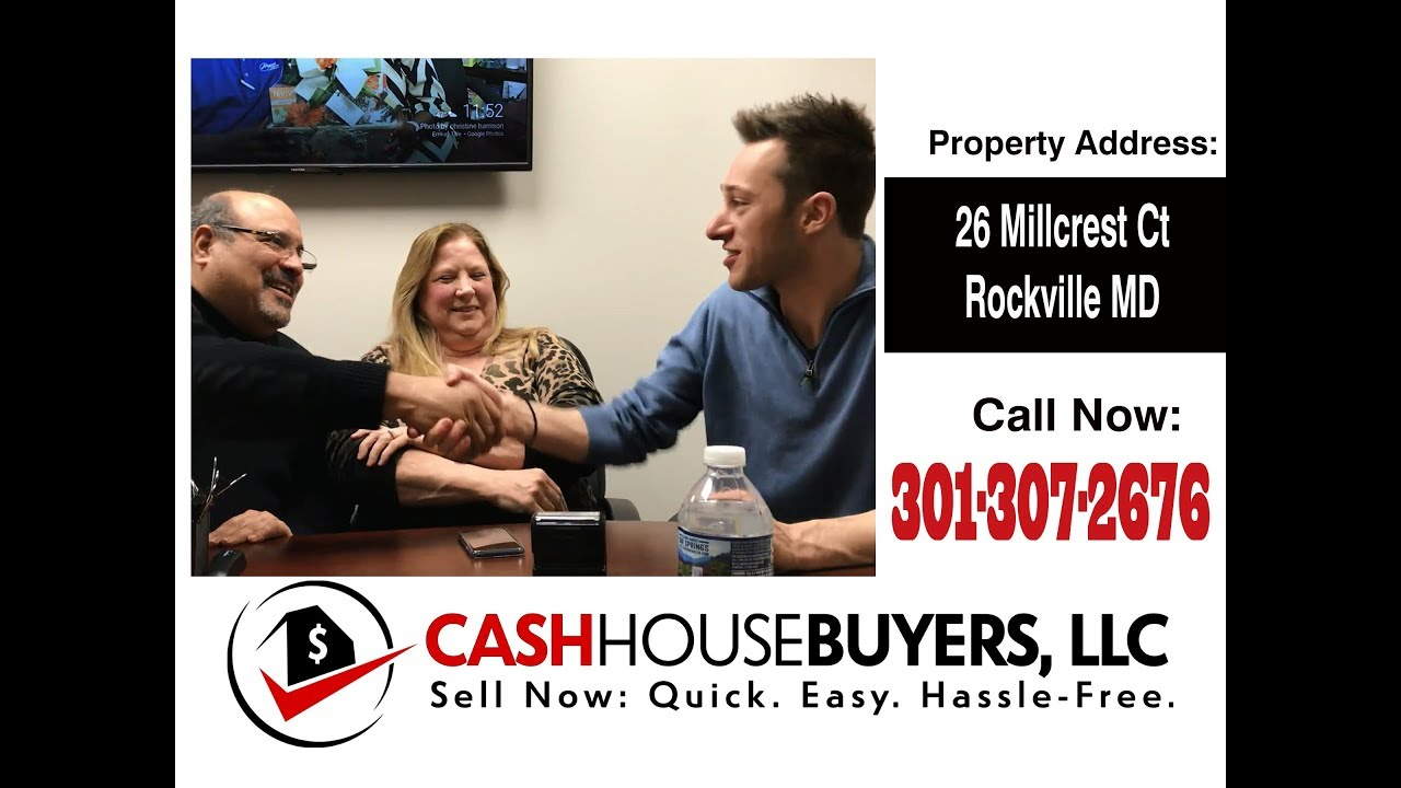 TESTIMONIAL We Buy Houses Rockville MD | CALL 301-307-2676  | Sell Your House Fast Rockville MD