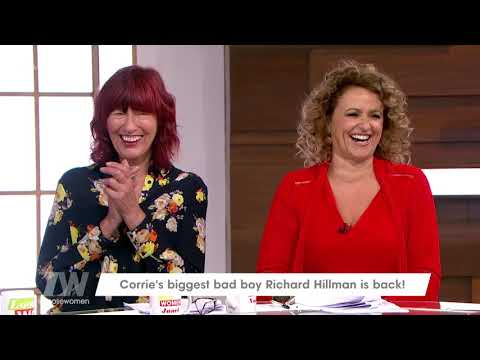 Richard Hillman Looks Back Fondly on His Corrie Days  Loose Women