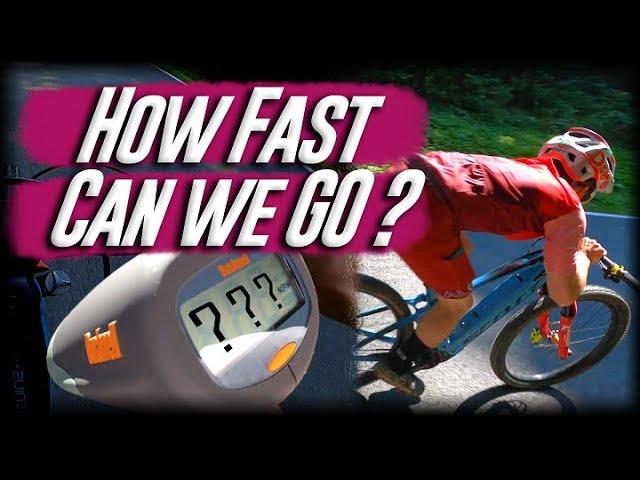 SenderTV #5 | 100 km/h on a MOUNTAINBIKE???