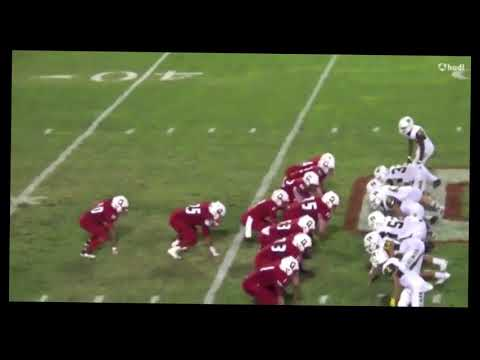 Gustine High School-Brandon Garbez #5 football highlights