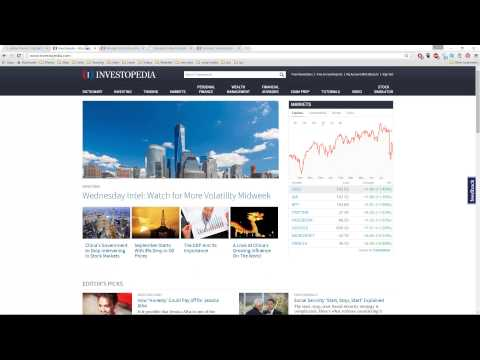 Investopedia Stock Simulator Getting Started