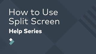 How to Make a Split-Screen Effect in Filmora | Split Screen Tutorial
