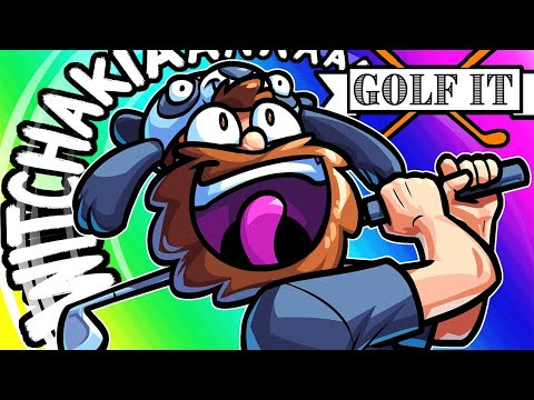 Golf It Funny Moments - Saying the Magic Word!!
