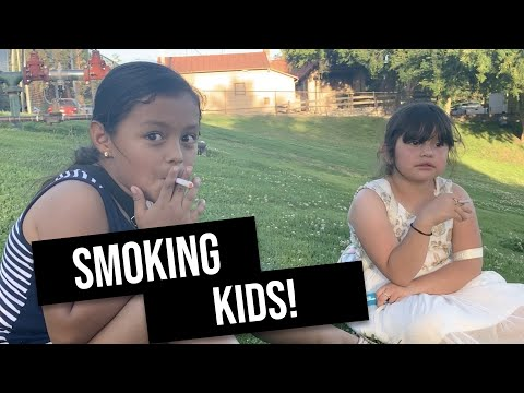 I caught a 7 and 8 year old smoking in the park! *Tips for not smoking*