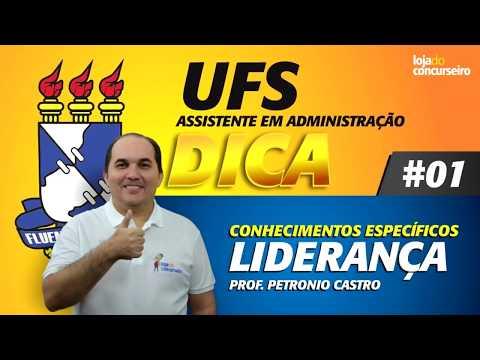 UFS - DICA #01 - Liderança - Petronio Castro