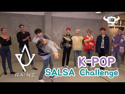 KPOP IDOLS DANCING SALSA