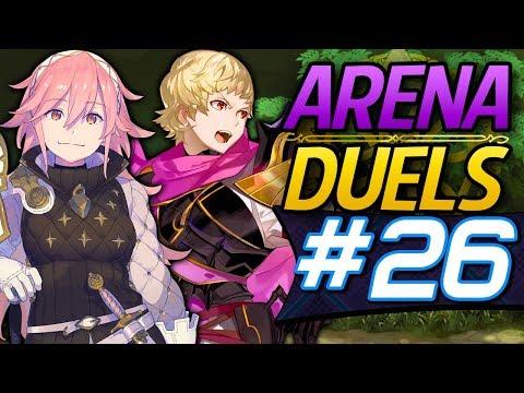 Fire Emblem Heroes: Arena Duels #26 - Soleil & Siegbert Atk Tactic Mixed Offense! [Arena Showcase]