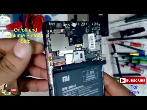 How To Open Xiaomi Redmi Note 4 Back Cover To Replace Battery China Version Youtube