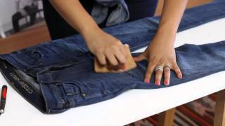 DIY Shredded Jeans