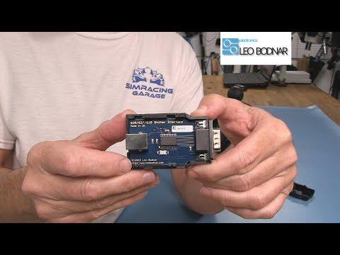 Leo Bodnar Logitech Shifter USB Interface Review   Sim