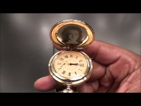 """Music Pocket Watch From """"FOR A FEW DOLLARS MORE MOVIE"""""""