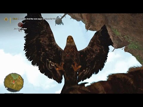 Climb Cliff-Rare Eagle Feathers - Far Cry Primal - Peak of Oros