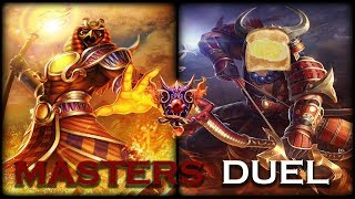 Smite: Masters Duel   Ra vs Hachiman   Melting The Salty Butter