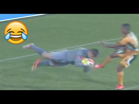 FUNNIEST MOMENTS AND FAILS IN SOUTH AFRICAN FOOTBALL