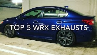 Top 5 Best Subaru WRX Exhausts (2015+ Sound Comparison) Grimmspeed, ETS, Nameless, Cobb, Invidia