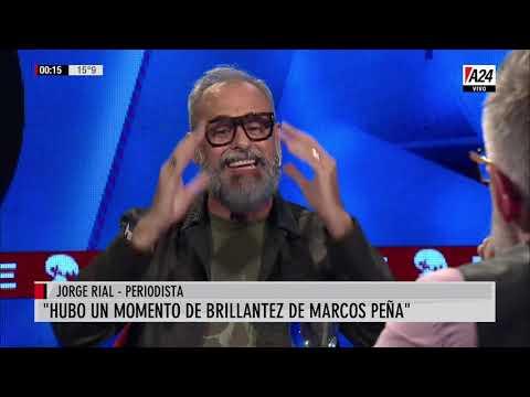 Jorge Rial con Luis Novaresio