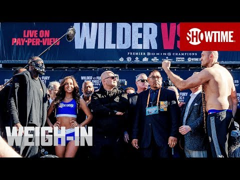 Wilder vs. Fury: Weigh-In   Dec. 1 on SHOWTIME PPV