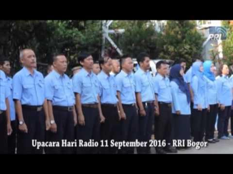 Upacara Peringatan 71 Tahun Radio Republik Indonesia di  RRI Bogor