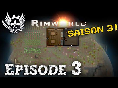 RIMWORLDS3E03 : Conversions de prisonniers & Centrale géothermale - Rimworld Français