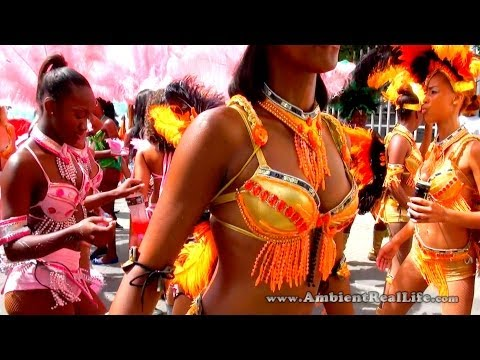 St Maarten, SXM - THE BEAUTIFUL GIRLS OF CARNIVAL, 2014!  St Martin, Caribbean