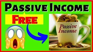 How To Earn FREE Passive Income (Beginner Friendly)