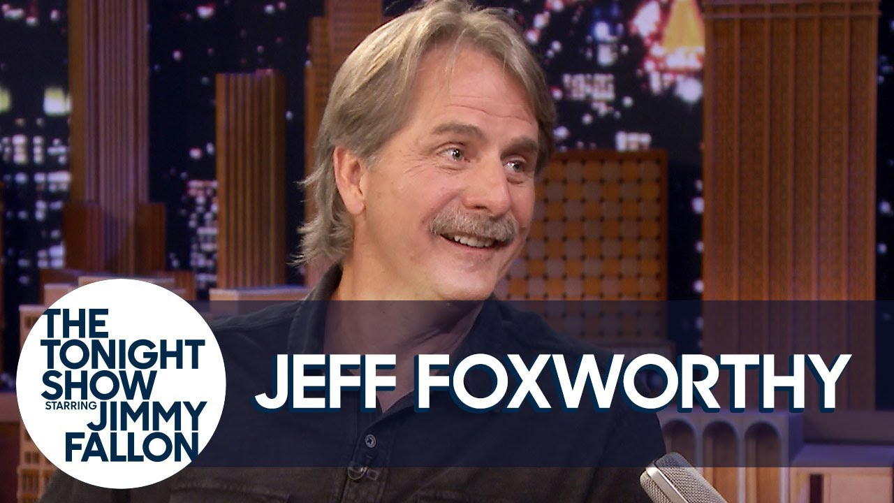 Jeff Foxworthy Teaches His Mom to Text and New Comics How to Bring the Funny