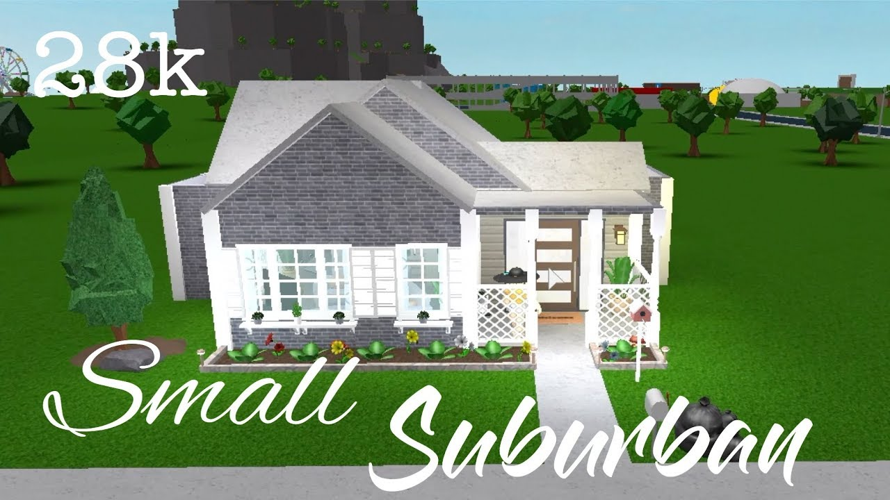 Bloxburg Small Suburban House Youtube