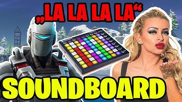 Roboter singt KATJA Song in Random Duos   Soundboard Trolling in Fortnite