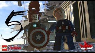 Прохождение LEGO MARVEL Avengers (Мстители) - Уровень 5:Война на вертоносце(1080p/60fps/Full HD)
