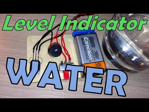 Индикатор уровня воды своими руками