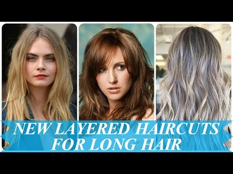 20 New ideas womens layered haircuts for long hair 2018