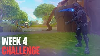Season 4, Week 4 Battle Star Challenge (Fortnite: Battle Royale Tutorial)