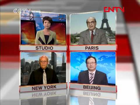 Fatemi on China Network Television : Lack of Leadership in Europe