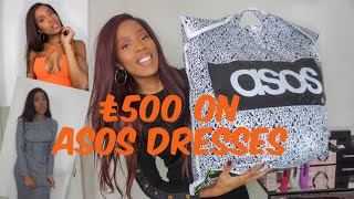 £500 ON ASOS DRESSES! ASOS TRY ON AND REVIEW