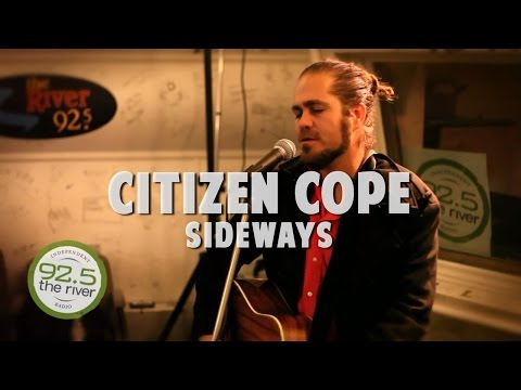 Citizen Cope performs Sideways in the River Music Hall