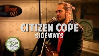"Citizen Cope performs ""Sideways"" in the River Music Hall"