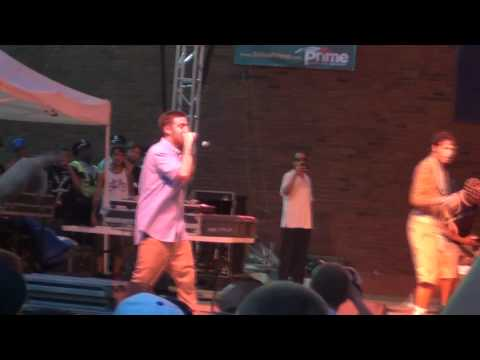 "Mac Miller ""Donald Trump"" Live @ Boston City Hall 8/6 HD"