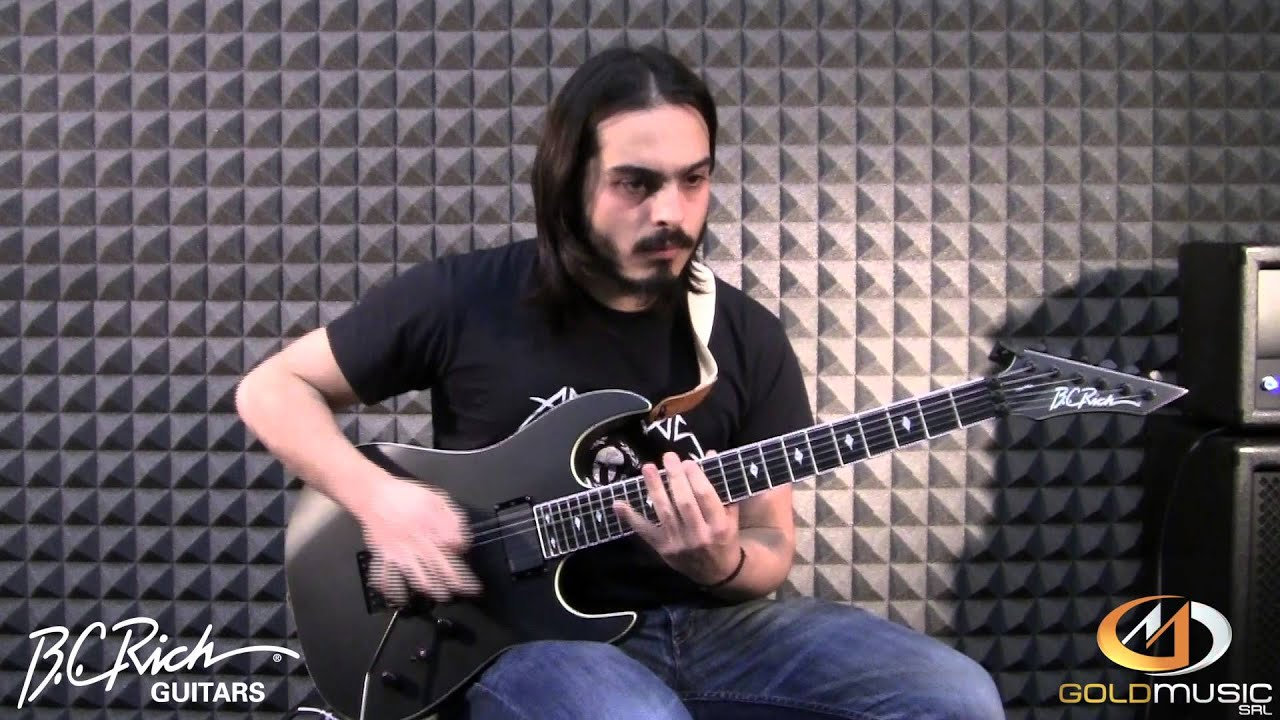 B.C. RICH ASSASSIN ASM PRO DEMO BY FEDERICO FONDACCI - YouTube