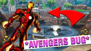 *NEW BUG* As to Fly High with Iron Man - Fortnite Endgame Bug Season 8
